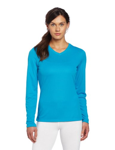 Asics Women's Ready Set Long Sleeve Top, Small, Atomic Blue
