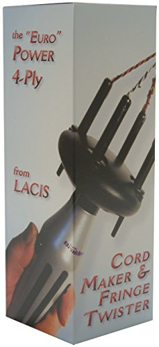 Best Prices! Lacis Battery Operated Cord Maker and Fringe Twister