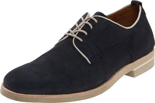 Johnston & Murphy Men's Dolby Plain Toe Oxford,Navy Suede,11 M US