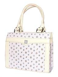 Stonkraft Womens Handbag (White) (FxLthrShldrWhtBag13)