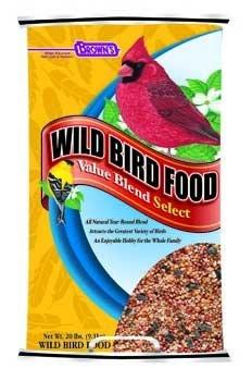 Cheap Top Quality Wild Bird Value Blend Barrier Bag 20lb 2pc (TDPS36678)