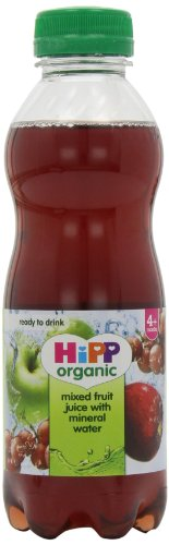 Hipp Organic Mixed Fruit Juice with Mineral Water Stage 4 Plus Months 500 ml (Pack of 6)