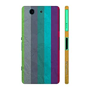 Enthopia Designer Hardshell Case PAPER STRIPES Back Cover for Sony Xperia Z4 Mini
