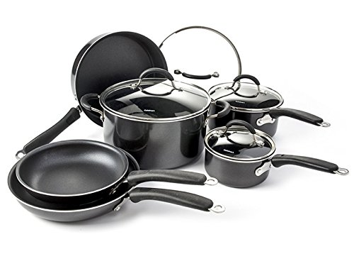 Cuisinart 54-10BK Advantage Non-Stick Cookware, Set of 10