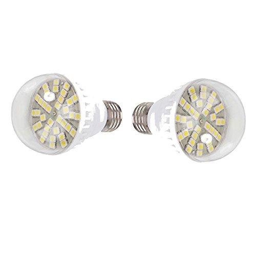 Pack Of 2, 5.4W 12V 36 Led 450Lm 6000K Light Bulb Lamp Bulb, White