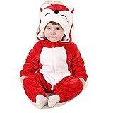 OHmais Unisex beb� Chico Chica Ni�as Ni�os Ropa De Noche Animal Carnaval Disfraz Cosplay Pijamas