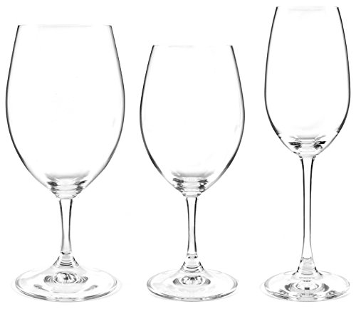 Riedel Ouverture Set of 12 - Buy Red and White Wine Glasses and Get 4 Bonus Champagne Glasses Free -