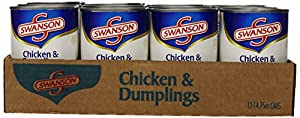 Swanson Chicken and Dumplings, 14.75 Ounce Cans (Pack of 12)