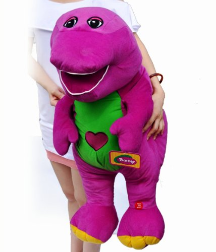 """Barney The Dinosaur Plush Singing""""I Love You"""" Song 24"""" front-806813"""
