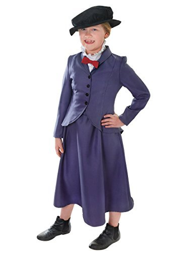 [Mary Poppins or Nanny McPhee - Children's Costume - Large by Beautiful Balloons] (Mary Poppins Costumes Child)