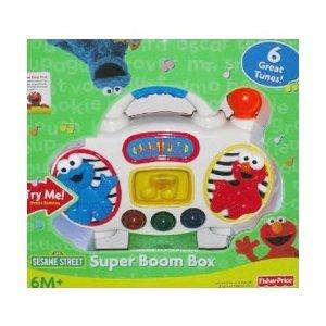 Fisher Price Elmo'S Super Boom Box