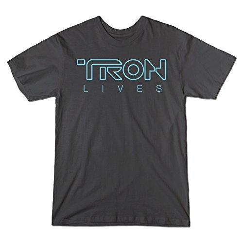 Tron Lives - Teepublic Male Medium T-Shirt