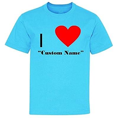I Heart Custom Name Youth T-Shirt