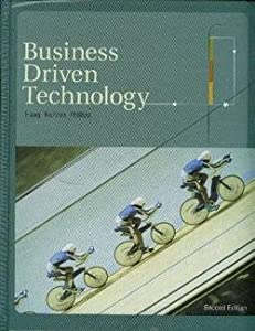 business driven technology quiz Download and read quizzes for business driven technology 5th edition quizzes for business driven technology 5th edition find the secret to improve the quality of life.