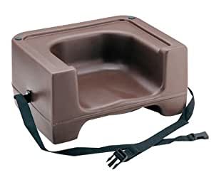 Carlisle 7111 401 Brown Booster Seat With Strap Kitchen Dining