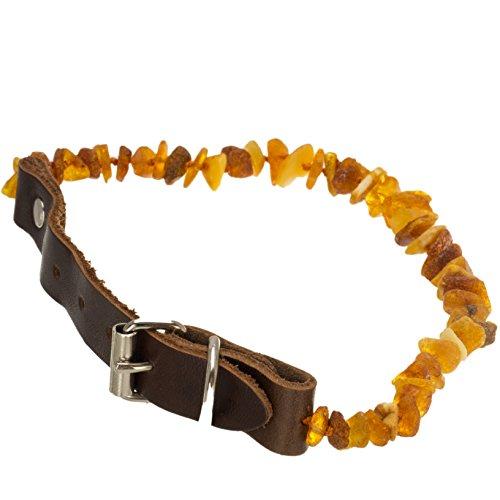 tick-dog-collar-medium-dog-flea-tick-protection-tick-collar-untreated-natural-amber-necklace-leather