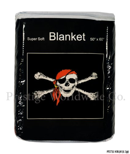 Skull Throw Blanket front-1078073