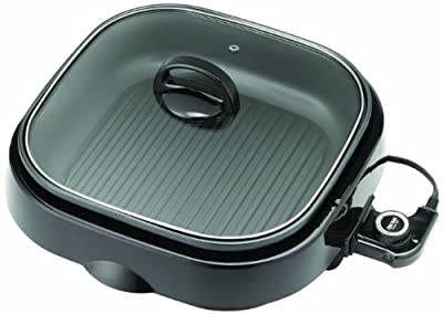 Aroma ASP-238BC Grillet 3-in-1 Indoor Grill by Aroma Housewares
