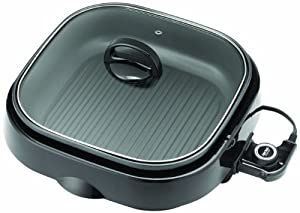 Aroma ASP-238BC Grillet 3-in-1 Indoor Grill by Aroma