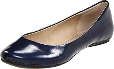 Kenneth Cole REACTION Women's Slip On By Flat Midnight Patent 5 M US