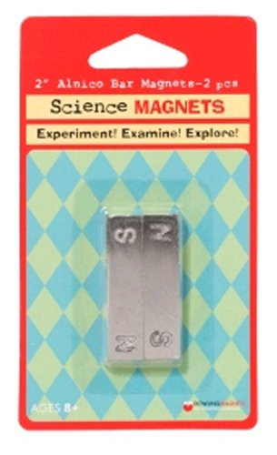 Dowling Magnets Do-731012 Magnet Alnico Bar 2 Inch 2-pk