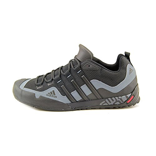 Adidas Outdoor Terrex Swift Solo Approach Shoe - Men's Black/Black/Lead 10