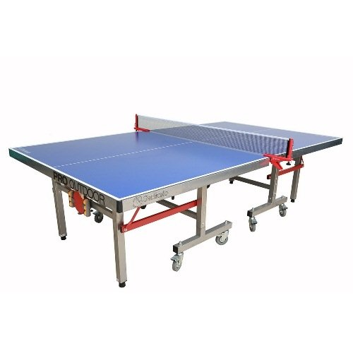 Garlando Pro Outdoor Ping Pong Table (4mm Top/50mm Leg), Blue
