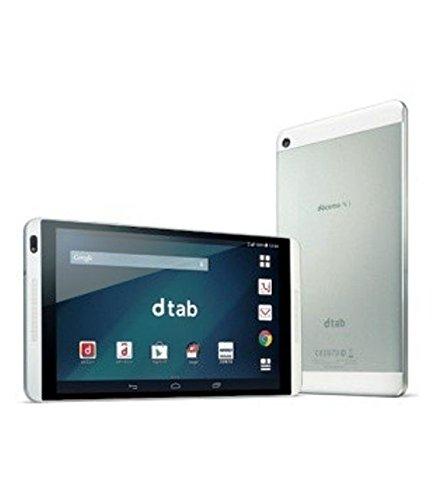 DoCoMo d-01G dtab silver Tablet white ROM