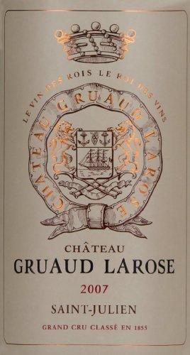 2007 Gruaud-Larose Bordeaux Red Blend 750 Ml