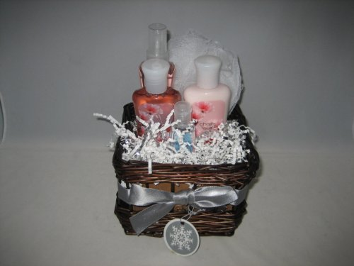 Bath & Body Works Cherry Blossom Gift Basket - Small