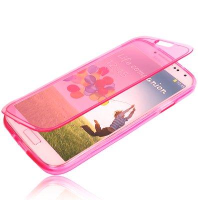 tpu-flip-case-translucent-pink-rosa-fur-samsung-galaxy-s6-nicht-fur-edge-von-aq-mobile