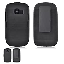 Huawei M636 Pinnacle II Black Hardcore Case Holster