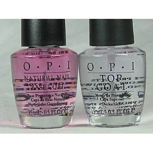 OPI Natural Nail Base Coat & Top Coat COMBO FULL SIZE .5