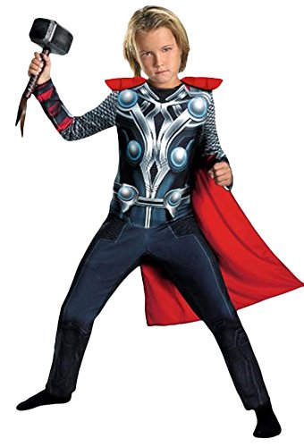 Ace Halloween Children's Kids Boys Muscle the Avengers Thor Costumes