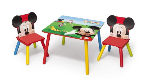 Delta Mickey Mouse Table and Chair