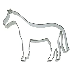 Städter Backform aus Edelstahl Pferd 6cm von Städter
