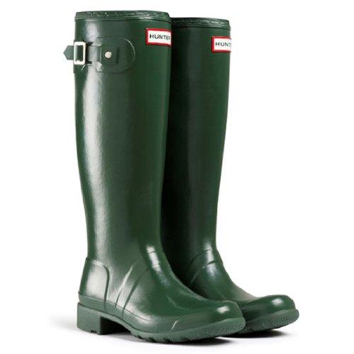 Green Rain Boots Women