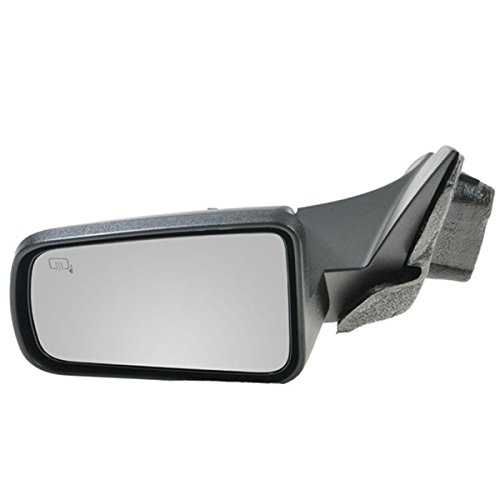 2008 2009 2010 2011 Ford Focus USA BUILT Power Heated Smooth Black Cap/Cover Non-Folding Fixed Rear View Mirror Left Driver Side (08 09 10 11) (09 Ford Focus Driver Side Mirror compare prices)