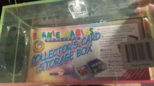 TY Beanie Babies Official Club - COLLECTOR'S CARD STORAGE BOX (Holds up to 376 Cards)