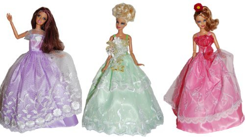 Dresses for Barbie - The Wildflower Collection (3 Dress Set)