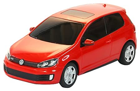 Jamara - 404085 - Maquette - Voiture - Volkswagen Golf Gti - Rouge - 3 Pièces