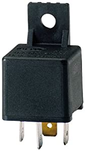 HELLA 003510087 30 Amp 12V Mini SPST Relay with Bracket from HELLA