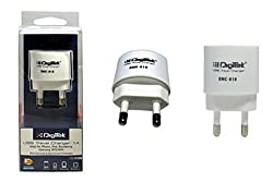Branded Digitek USB Travel Charger DMC-010 for for iPhone, iPod, Blackberry, Samsung, HTC, LG, Nokia