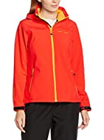 Black Crevice Chaqueta Soft Shell (Rojo / Naranja)