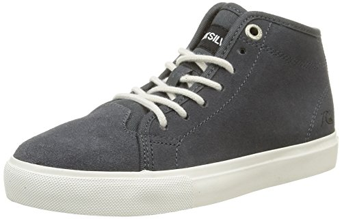 QuiksilverCove Mid Sherpa - Sneaker Ragazzo , Grigio (Gris (Grey/Grey/White)), 34