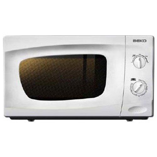 Beko - Microondas Mwc2000Mw, 20L, 700W Blanco Sin grill