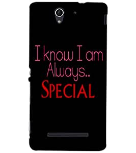 SONY XPERIA C3 SPECIAL Back Cover by PRINTSWAG
