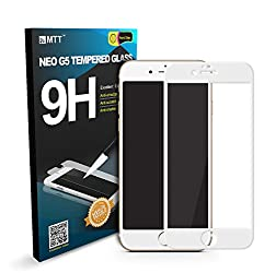 MTT 3D Full Body Tempered Glass Screen Protector Guard for Apple iPhone 6S / 6 (White)