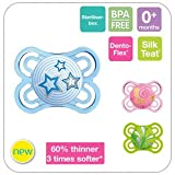MAM PERFECT ORTHODONTIC SOOTHER 0M+ BPA FREE 1 IN PACK PINK