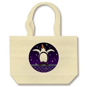 脱走ペンギン6(W) トートバッグ(ナチュラル)